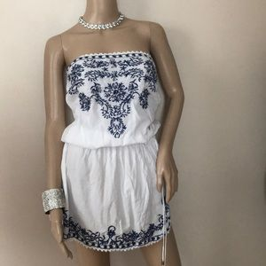 Boho dress with sequins
